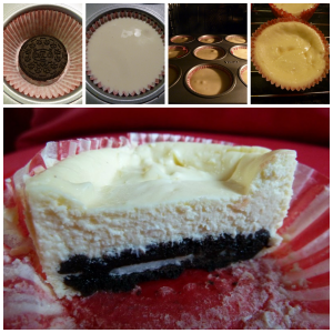 130818 mini Oreo cheesecake
