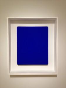 130728 Yves Klein, Monochrome Blue