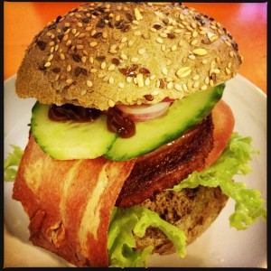 140111 vegetarische bacon burger