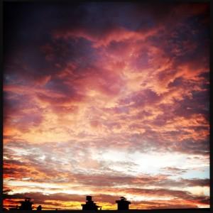 150809 zonsondergang