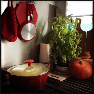 151004 pompoensoep maken