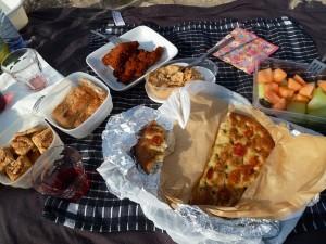 130722 picnicken bij de Zandmotor