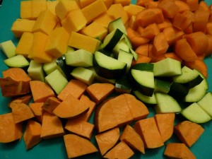 131013 zoete aardappel, courgette, peen en pompoen