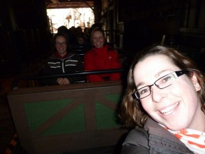 140205 achterstevoren in Big Thunder Mountain